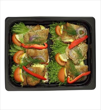 Smörrebröd stekt spätta 6-p